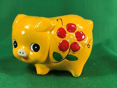 Brinn's Ceramic Pig Coin Bank in New Condition