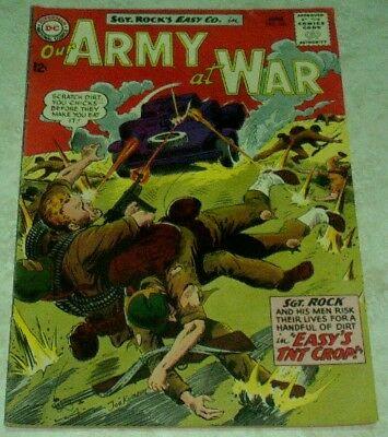 Our Army at War 143 (FN/VF 7.0) 1964, 40% off Guide!