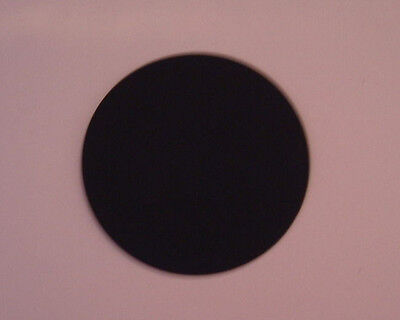 Die Cut Plain Edge Circles In Black Card-Choose From 6 Sizes & Different Amounts