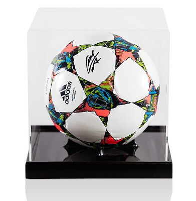 Luis Suarez Signed Official 2014-15 UEFA Champions League Football - In Acrylic