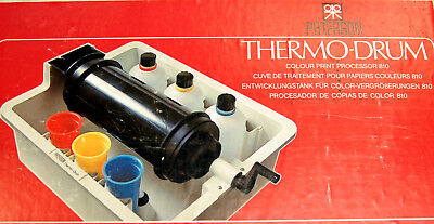 "Paterson THERMODRUM 810 ROTARY COLOUR PRINT PROCESSOR OUTFIT 8""X10"" prints"