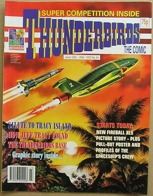 Thunderbirds the Comic Issue 44 from June 1993