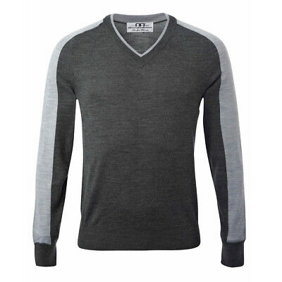 Alessandro Albanese Men's Vermont Knit Sweater - Charcoal - Differ Sizes - SALE!