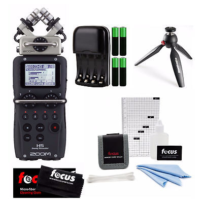 Zoom H5 Ultra-Portable Digital Audio Recorder with Tripod and Accessory Kit