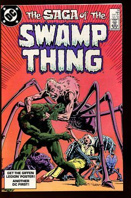 SAGA OF THE SWAMP THING #19 NEAR MINT 1983 DC COMICS bin-2017-3625