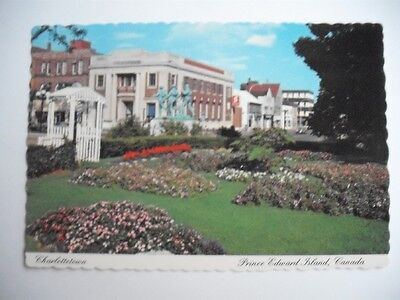 Charlottetown Pei Canada Province House Government Soldier Monument Postcard