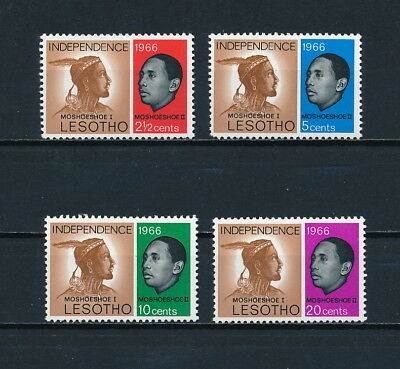 Lesotho 1-4 MNH, Independence Issue, 1966