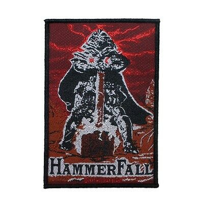"""""""HammerFall"""" Glory to the Brave Album Art Heavy Metal Band Sew On Applique Patch"""