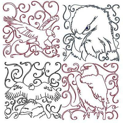 Quilting Stipple Blocks 48 Machine Embroidery Designs Cd 3 Sizes 4 Sets