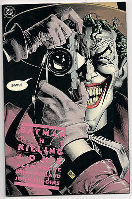 BATMAN The Killing Joke 2nd Print VaRiAnT 1988 GOTHAM Joker HARLEY QUINN Oracle