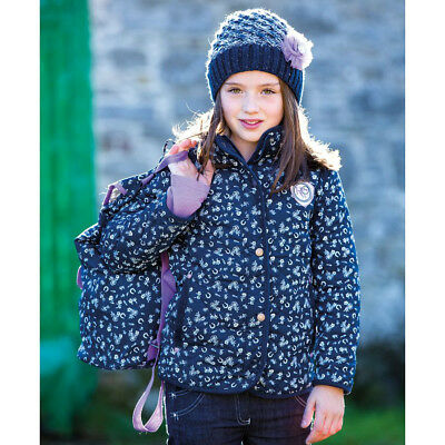 Horseware Girl's Quilted Coat - Printed - Different Sizes - SALE!