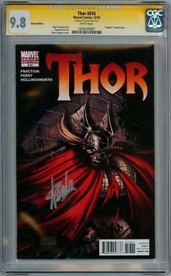 Thor #616 Vampire Variant Cgc 9.8 Signature Series Signed Stan Lee Movie