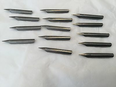 "Easy Writer No. 2 ""Old Honesty"" 14 pen nibs unused"