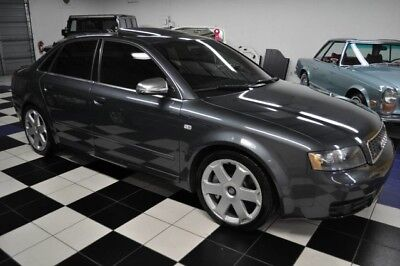 2004 Audi S4 S4 QUATTRO - 6SP MANUAL - ALL ORIGINAL  4 - VERY WELL MAINTAINED - FLORIDA CAR - X-CLEAN