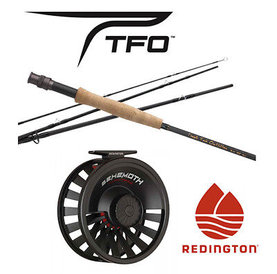 Temple Fork Pro Series Ii Fly Rod & Redington Behemoth Reel Combo For 5 Or 6 Wt