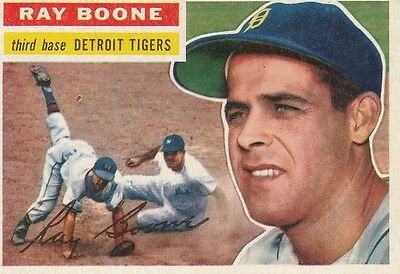 Topps 1956 #6 Ray Boone-Detroit Tigers