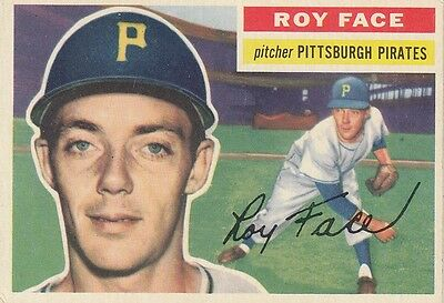Topps 1956 #13 Roy Face-Pittsburgh Pirates