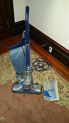 Vintage Kirby 3-CB upright Vacuum Cleaner w/Manual and extra bags tested working