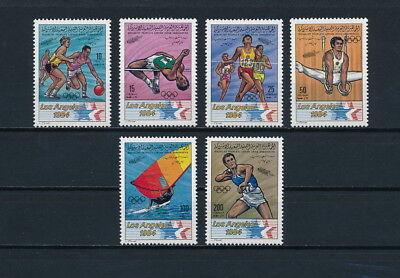 Libya 1111-16 MNH, Olympic Games, 1983