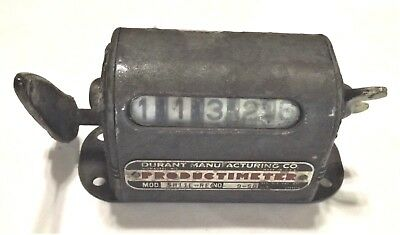 Durant Productmeter - Product Counter - Good Working Condition - Used