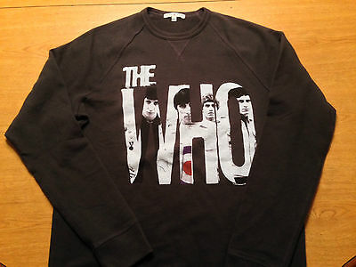 New Junk Food The Who Live in Concert 12/3/65 two-sided sweatshirt Medium/Large