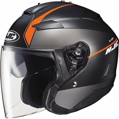 HJC IS-33 II Niro Open Face Helmet Motorcycle Helmet