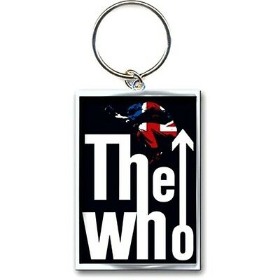 Official The Who Leap Logo Metal Keyring - Rock Music Keychain Mod Target 402052ae809c