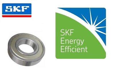 SKF E2 Energy Efficient Metal Shielded 2Z Series Metric Deep Grove Ball Bearing