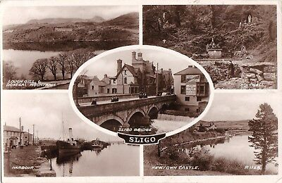 jk irish postcard ireland sligo