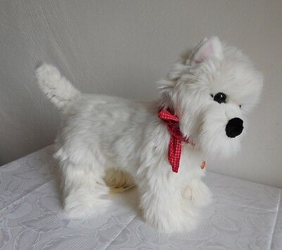 35 cm Steiff West Highland White Terrier Tommi in Cooperation mit Cesar