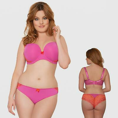 Saffron Curvy Kate CK4605 Smoothie Prowl Brazillian Thong in Cranberry