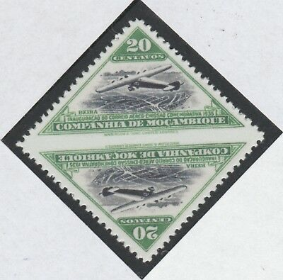 Mozambique 5856 - 1935 AIR TRIANGULAR IMPERF BETWEEN   a Maryland FORGERY unused