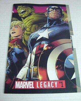 Marvel Legacy #1 Quesada Double Gatefold Regular Cover $3 Flat Rate Shipping! Nm