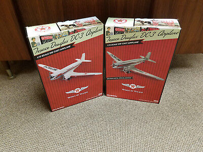 New 2017 Texaco Douglas Dc-3 Airplanes Regular & Special #25 Mint Boxes Sold Out