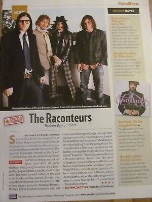 The Raconteurs, Jack White, Full Page Clipping