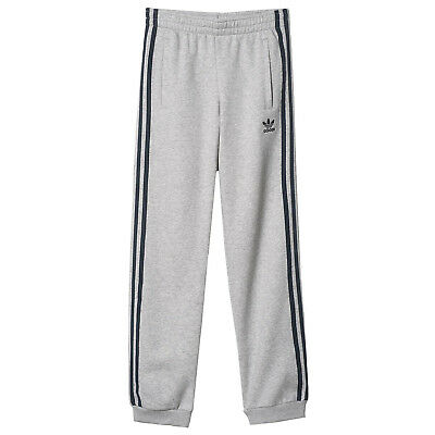 adidas Originals Boys Concrete Jungle Cuffed Joggers Pants Bottoms - 11-12 Years
