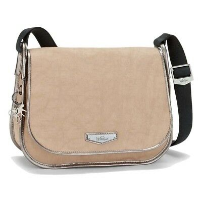 Kipling New Luxeables One Size Clouded Beige