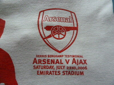 RARE 22/7/06 1st GAME @ EMIRATES, VERY BIG AUCTION - PLEASE READ