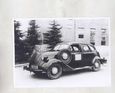 1936 ? FIRST Toyota ORIGINAL Factory Photograph wy6426