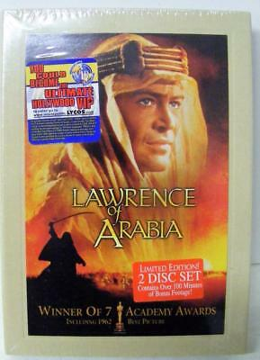 Lawrence Of Arabia Limited Edition 2 Disc Dvd New Sealed