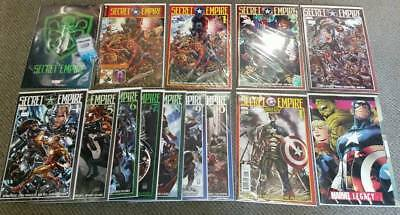 SECRET EMPIRE set #1-10 + Omega + Marvel Legacy #1 (Captain America comics lot)