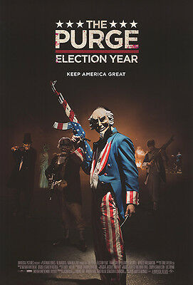 Purge Election Year - original DS movie poster - 27x40 D/S Final