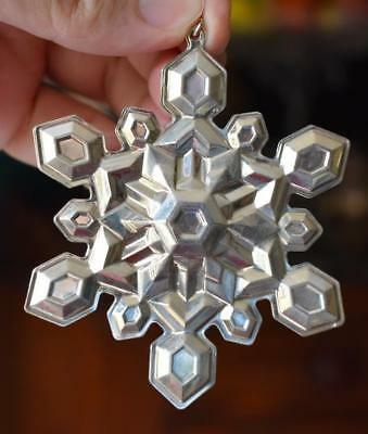 Lovely Circa 2001 Gorham 32Nd Edition Sterling Silver Snowflake