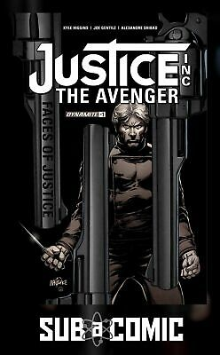 JUSTICE INC FACES OF JUSTICE #1 COVER A MANDR (DYNAMITE 2017 1st Print) COMIC