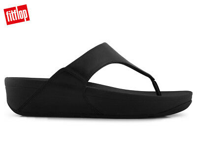 FitFlop Women's Lulu Leather Sandal - Black