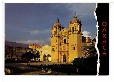 Postcard: Church of Saint Domingo, Oaxaca, Mexico