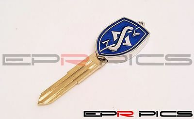 Nissan 200SX S13 PS13 S14/S14A R32 R33 Skyline Blue Colour Blank Key