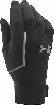 Under Armour No Breaks Armour Liner Running Gloves - Black