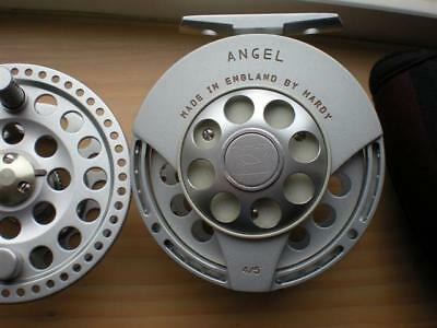 Vintage Hardy Angel 4/5 Reel Fly Reel W/ Carry Pouch