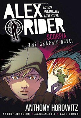 Alex Rider: Scorpia: an Alex Rider Graphic Novel-Anthony Horowitz, Antony Johnst